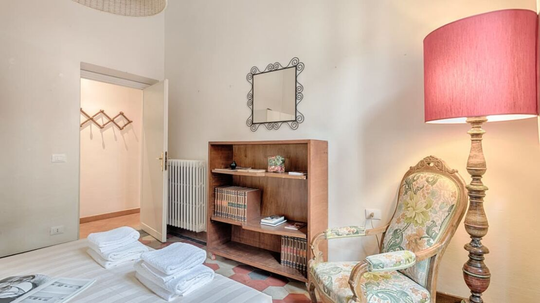 Appartamento porta romana Firenze Camera da letto