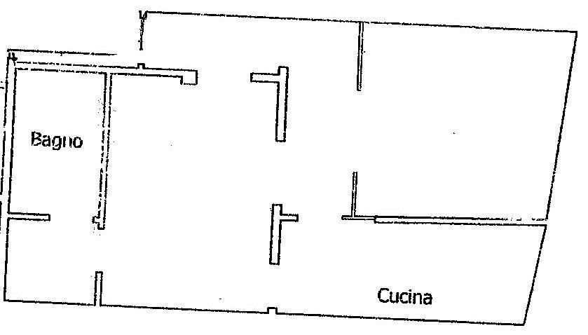 Bilocale Santa Croce Firenze Planimetria