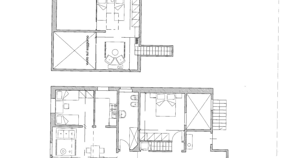 Casa in vendita nei pressi di via del Campuccio Planimetria
