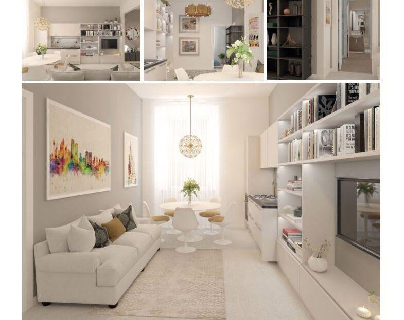 Appartamento in vendita in via Cavour Salotto