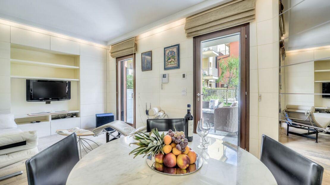 Casa in vendita in via Orcagna Soggiorno