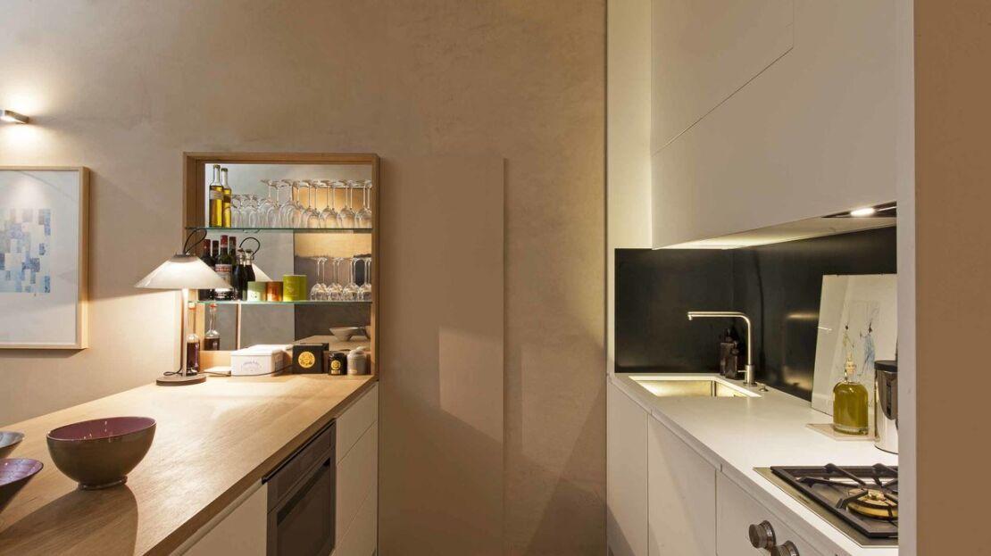 Loft in vendita in Oltrarno Cucina