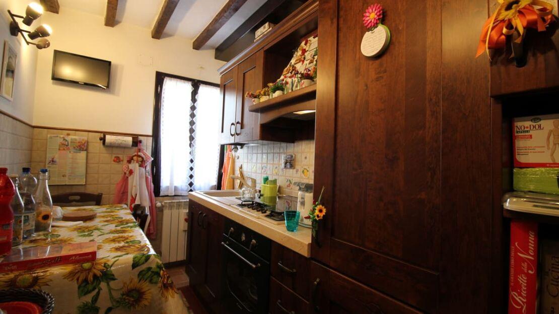 Casa in vendita in via Monte alle Croci a Firenze Cucina