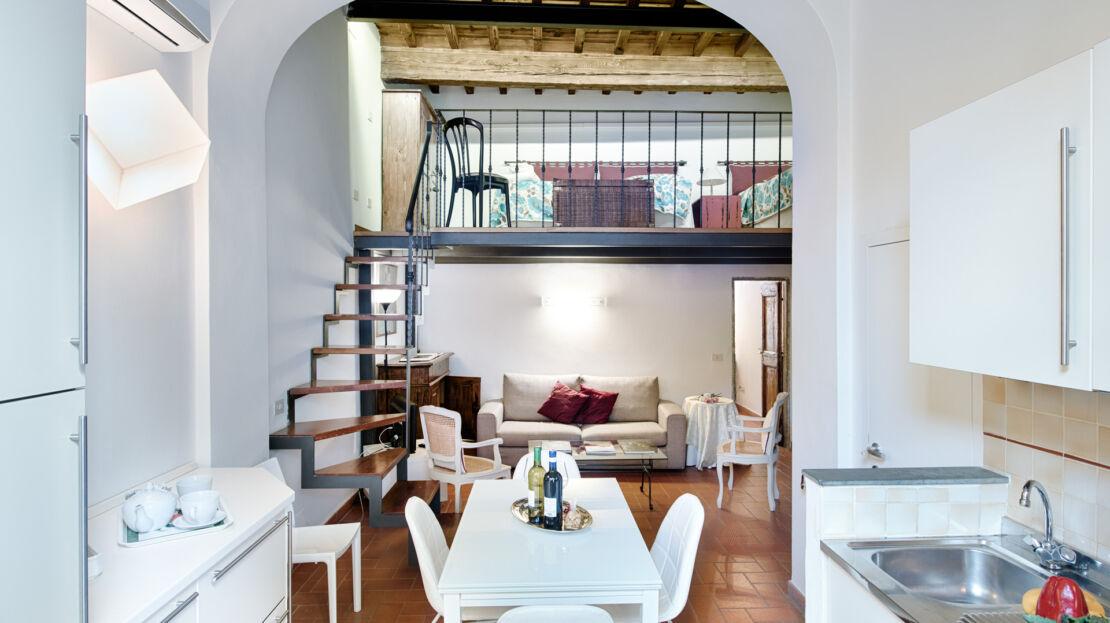 Casa in vendita vicino Piazza Santissima Annunziata cucina