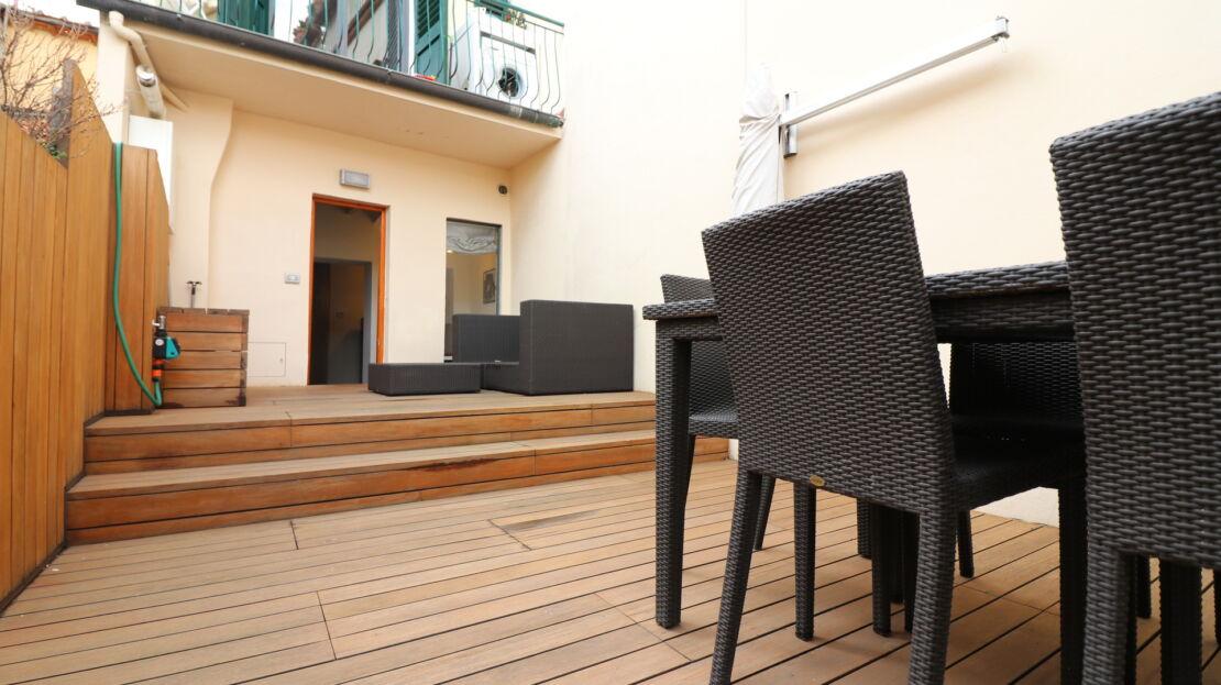 Appartamento con terrazza in San Frediano
