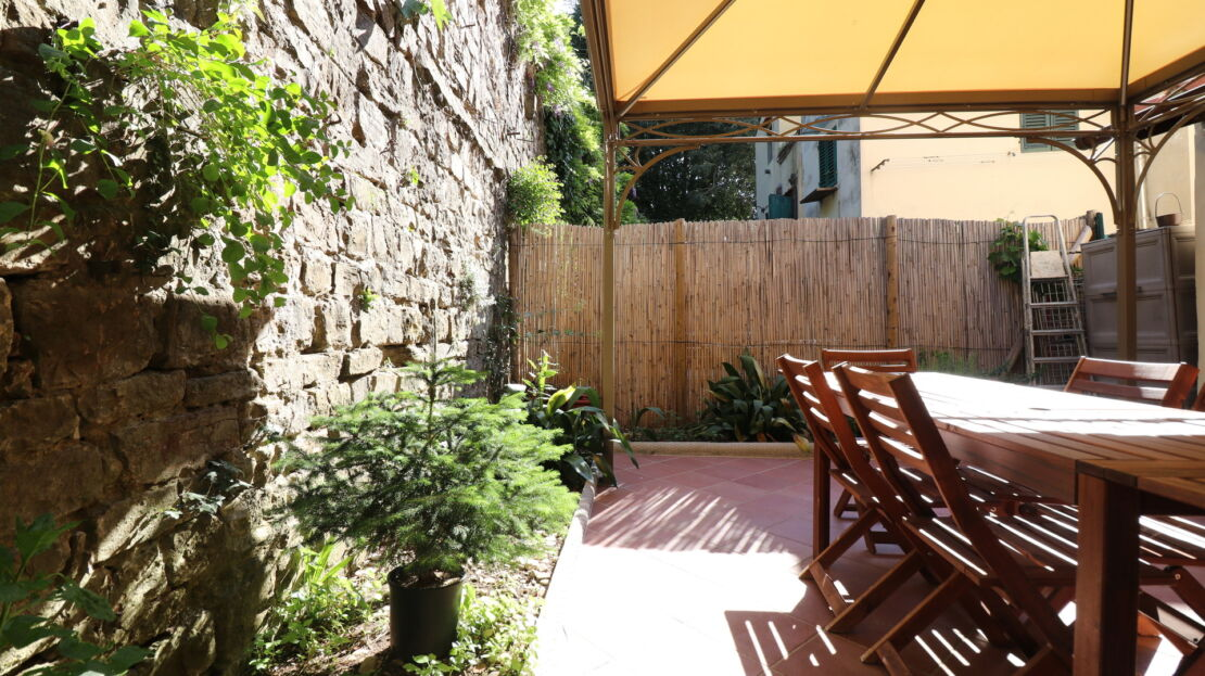 Casa con terrazza in San Niccolò